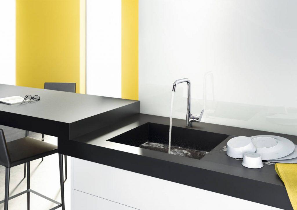 Hansgrohe køkken vandhane fra Breinholt VVS i Esbjerg